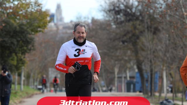 fotos maratón Madrid 2020 Club 3d triatlón 17