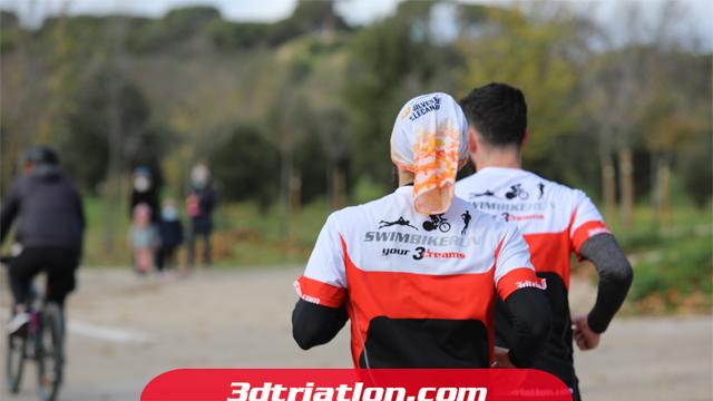 fotos maratón Madrid 2020 Club 3d triatlón 18
