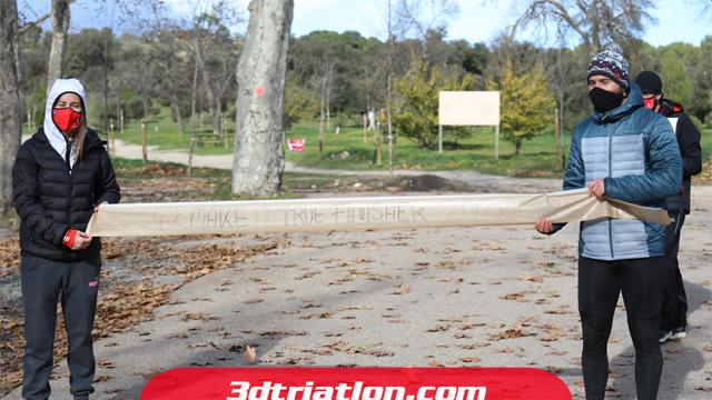 fotos maratón Madrid 2020 Club 3d triatlón 19