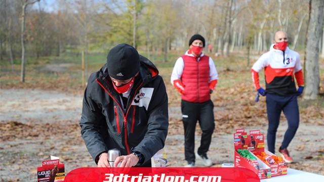 fotos maratón Madrid 2020 Club 3d triatlón 2