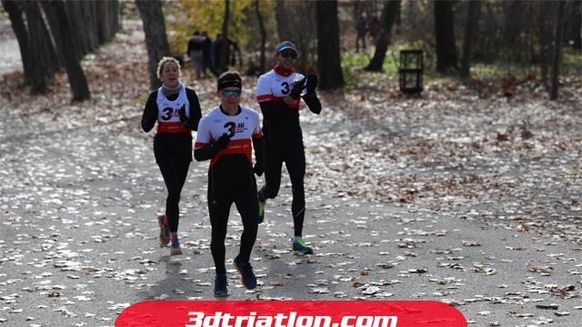 fotos maratón Madrid 2020 Club 3d triatlón 20