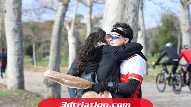 fotos maratón Madrid 2020 Club 3d triatlón 21
