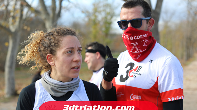 fotos maratón Madrid 2020 Club 3d triatlón 22