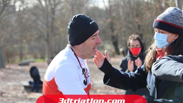 fotos maratón Madrid 2020 Club 3d triatlón 26