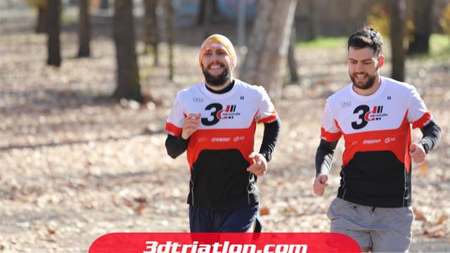 fotos maratón Madrid 2020 Club 3d triatlón 27
