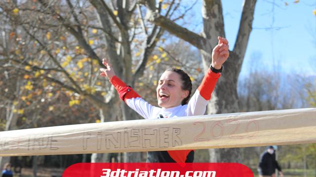 fotos maratón Madrid 2020 Club 3d triatlón 29