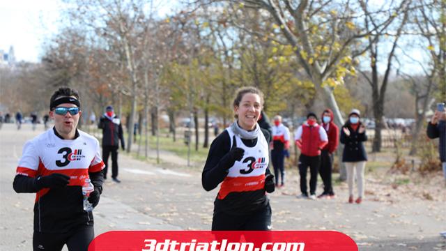 fotos maratón Madrid 2020 Club 3d triatlón 3