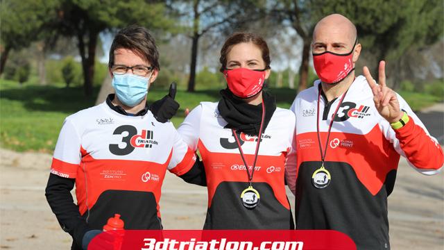 fotos maratón Madrid 2020 Club 3d triatlón 34