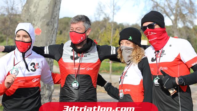 fotos maratón Madrid 2020 Club 3d triatlón 36