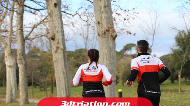 fotos maratón Madrid 2020 Club 3d triatlón 5