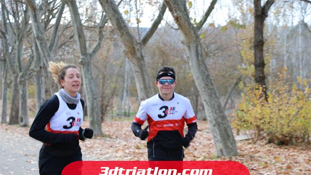 fotos maratón Madrid 2020 Club 3d triatlón 7