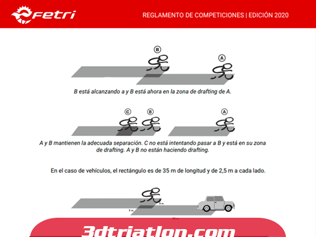 reglamento de triatlón en el sector de ciclismo club 3d triatlón madrid