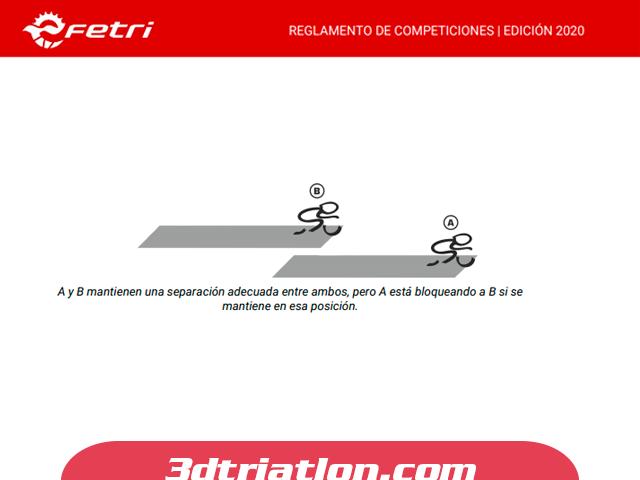 ley del drafting reglamento de triatlón sector de ciclismo club 3d triatlón madrid