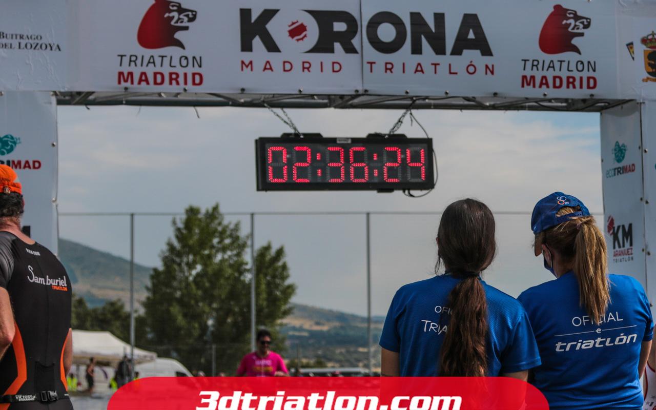 fotos triatlón ecotrimad 2021 Club 3d Triatlón Madrid 2