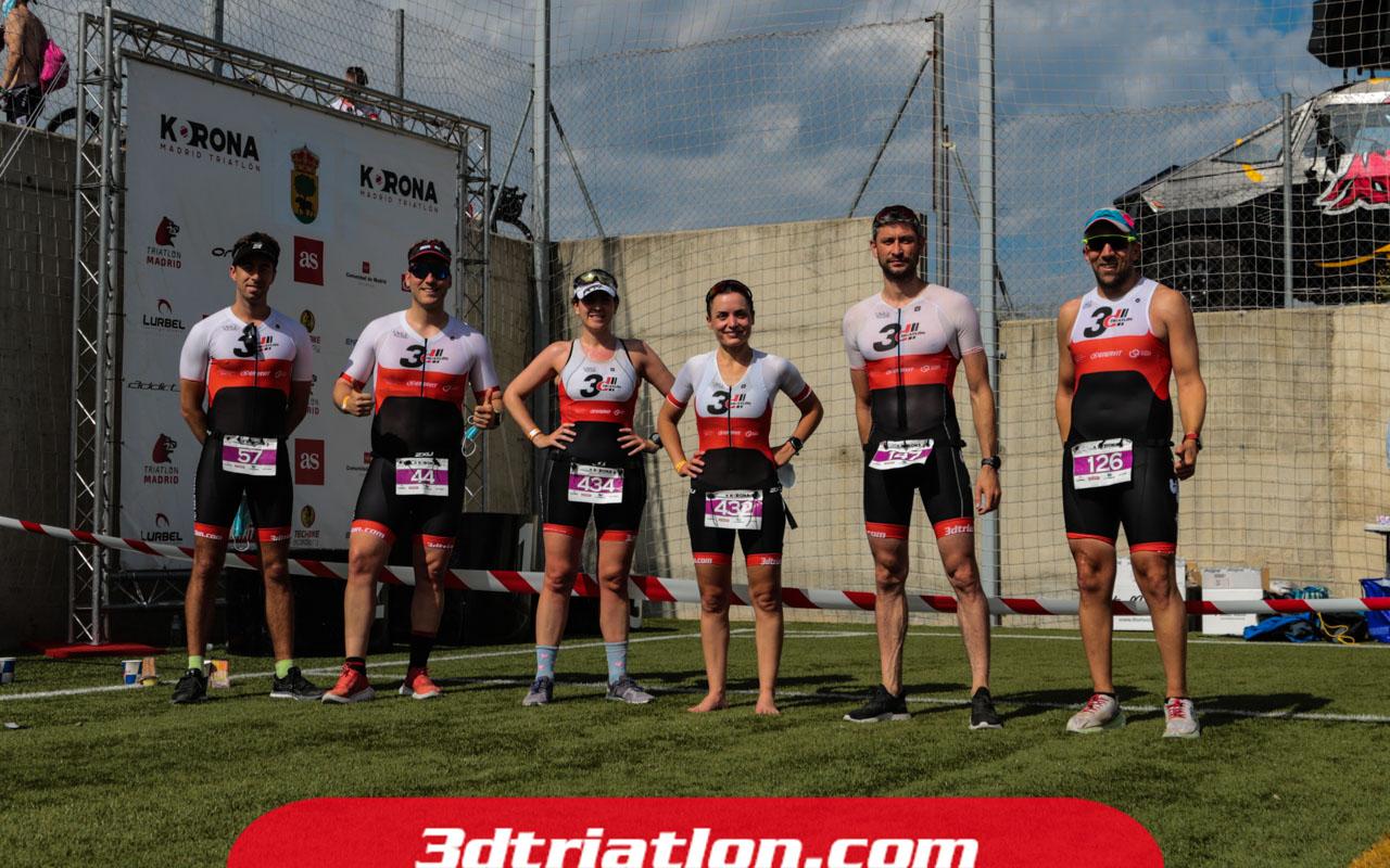 fotos triatlón ecotrimad 2021 Club 3d Triatlón Madrid 7