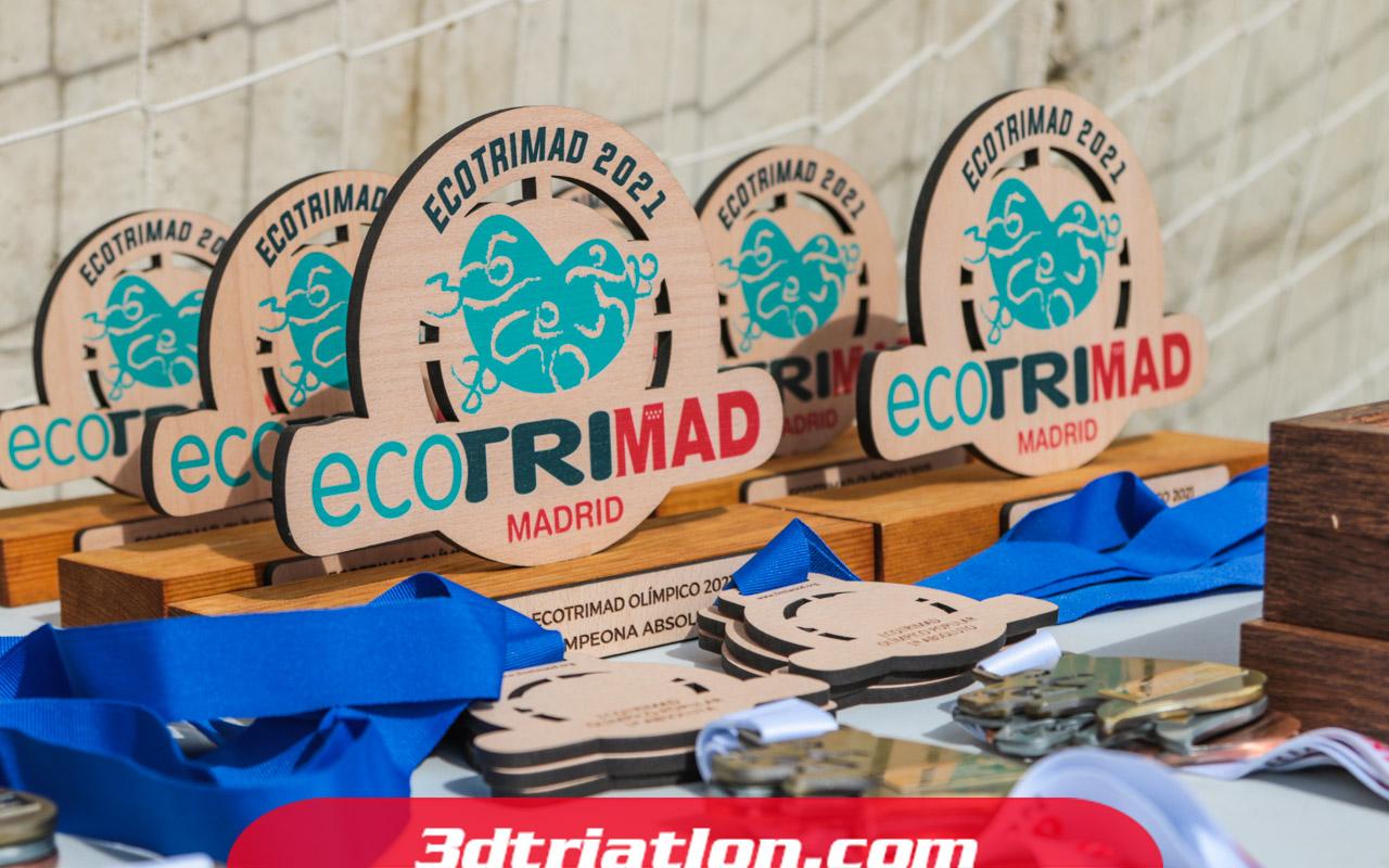 fotos triatlón ecotrimad 2021 Club 3d Triatlón Madrid 9