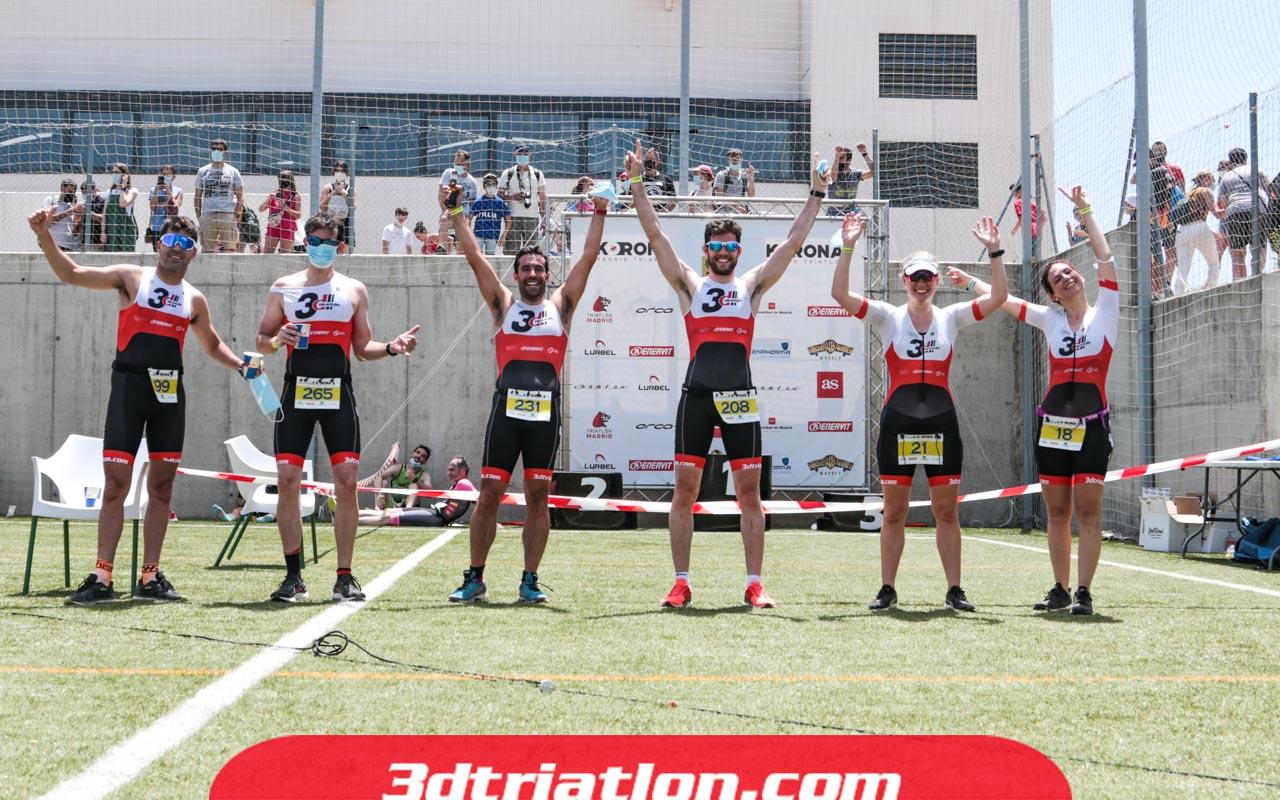 fotos triatlón ecotrimad 2021 Club 3d Triatlón Madrid 85